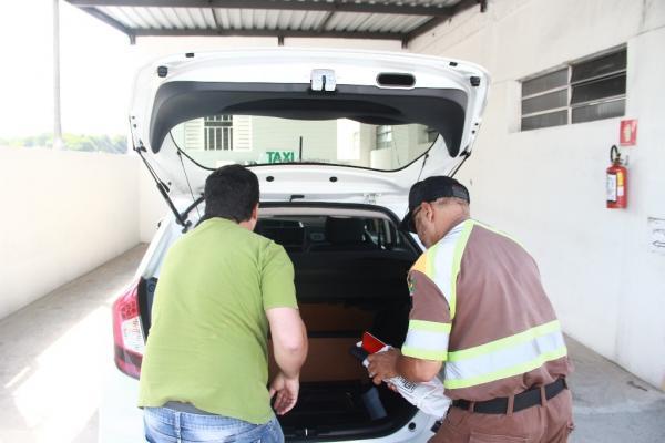Táxis em Taboão da Serra foram inspecionados