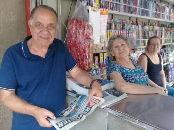 Jornal SP Repórter encontra com o ex-vereador Irineu, de Taboão da Serra