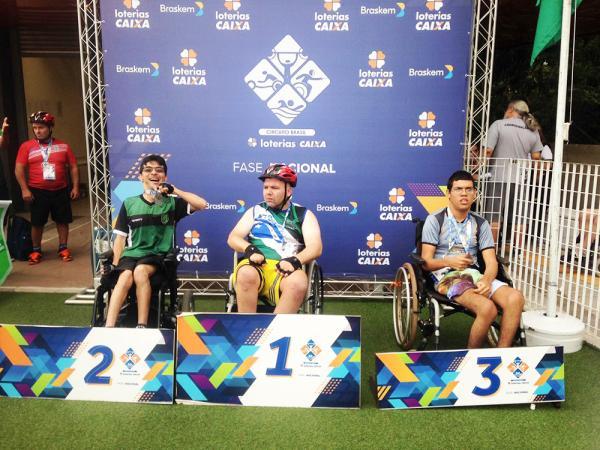 Atleta taboanense foi medalha de prata na 1ª etapa nacional do Circuito Loterias Caixa de Atletismo
