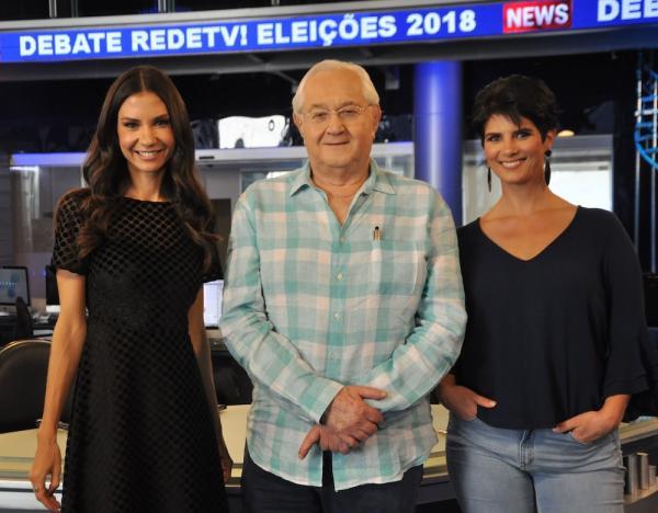 RedeTV! realiza debate com os candidatos à presidência na próxima sexta-feira, 17