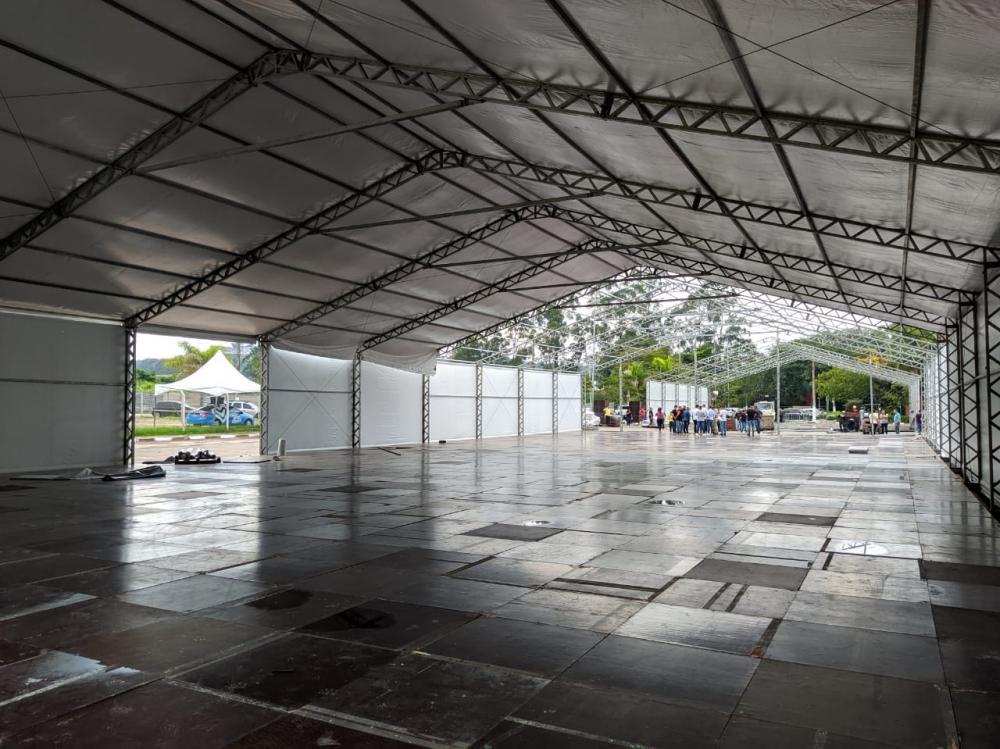O local abrigará 10 consultórios, 40 leitos, sala de triagem, farmácia, sala de medicação e sala de observação - Foto PMEA