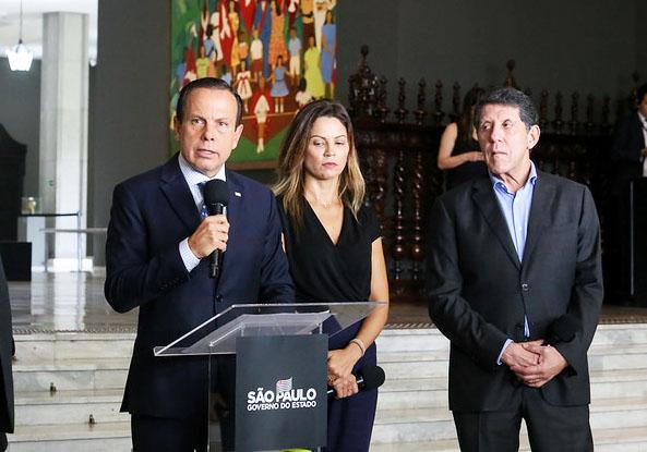 O Governo de São Paulo determinou quarentena em todos os 645 municípios do Estado a partir de terça-feira (24) - Foto: Governo de SP