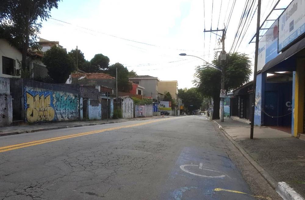 Avenida José Maciel na tarde de domingo, 22. Foto: Elizeu Teixeira Filho/Jornal SP Repórter News