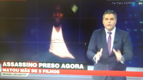 Suspeito de matar moradora taboanense foi preso, de acordo com programa de TV