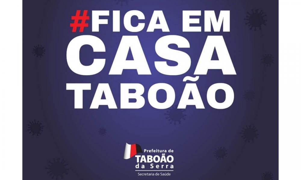 Arte publicada no Facebook da Secretaria de Saúde de Taboão