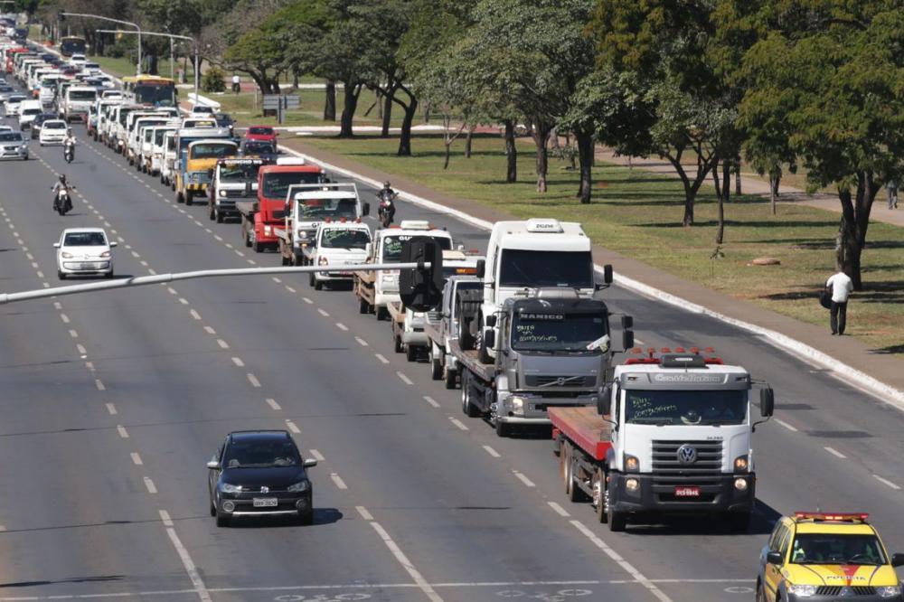 Governo de cria força-tarefa para manter corredores logísticos no Estado - Foto : Antonio Cruz/ABr