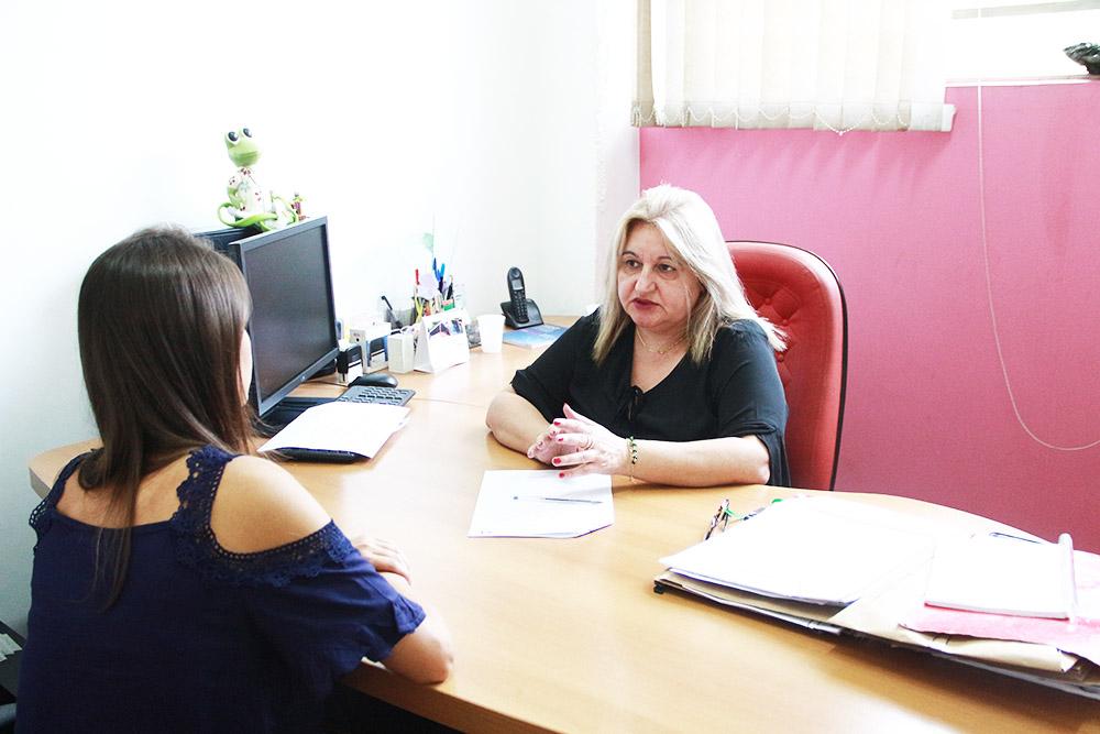 Dra. Sueli Amoedo, coordenadora dos Direitos da Mulher de Taboão da Serra. Foto: Ricardo Vaz