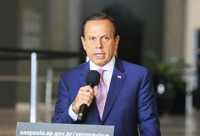 Governador João Doria prorroga quarentena até 22 de abril