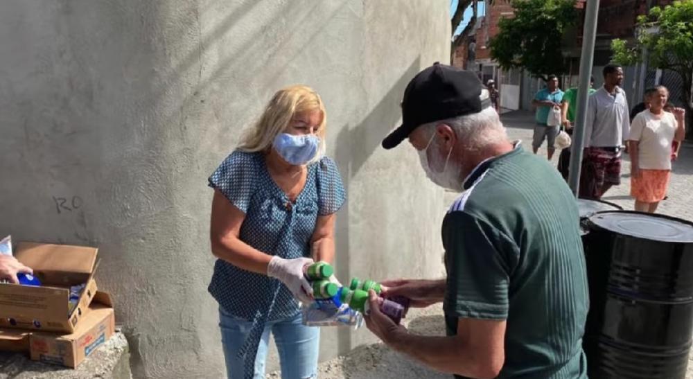 Ação da Prefeitura, coordenada pela Secretaria de Assistência Social, em que foram doados, para duas mil famílias, produtos lácteos