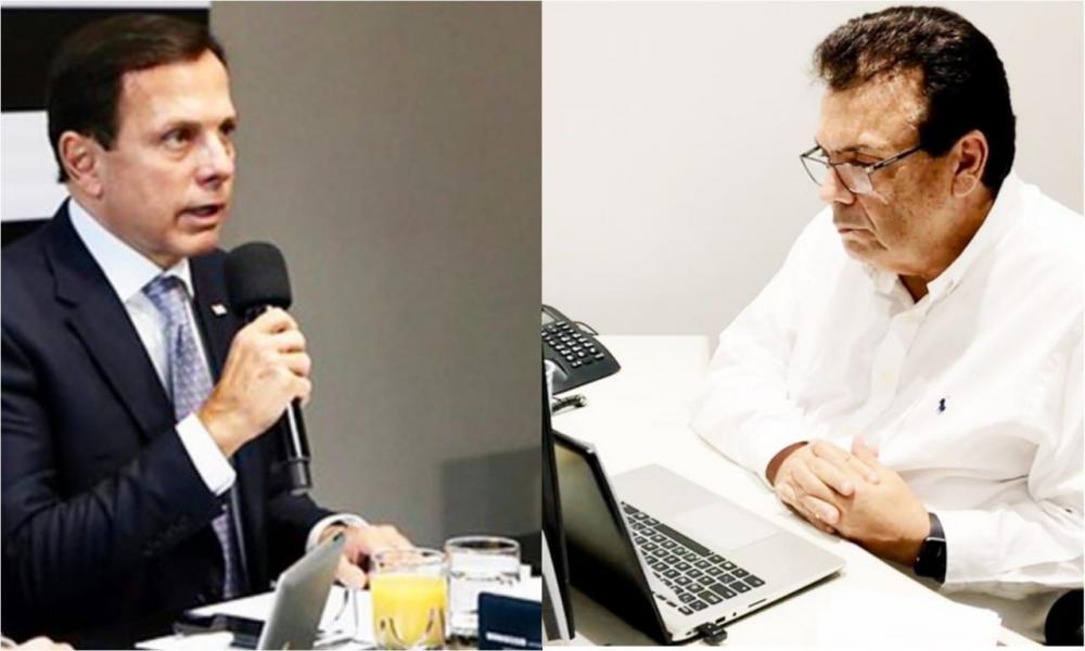 Fernando Fernandes e Doria se reúnem e ressaltam a importância do isolamento Social