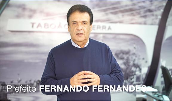 Prefeito de Taboão da Serra antecipa feriados e faz alerta