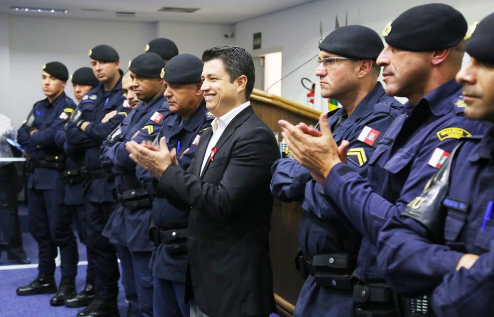 Vereador Marcos Paulo afirma que GCM tem papel fundamental no combate ao coronavírus - Foto: Diculgação