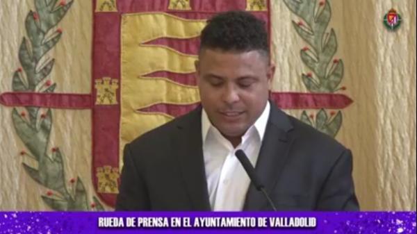 Ronaldo Fenômeno compra 51% de clube da primeira divisão da Espanha