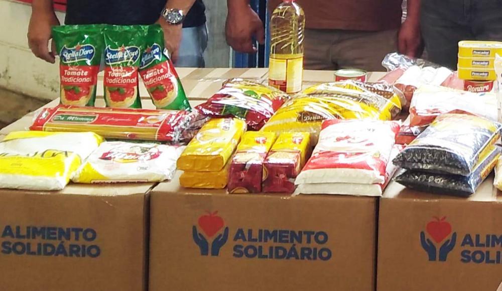 """Embu das Artes recebe mais de 15 mil cestas do projeto """"Alimento Solidário"""""""