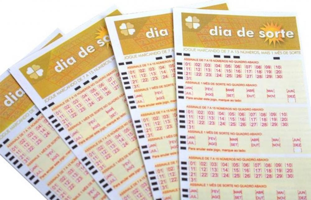 Dia de Sorte acumula novamente e pode pagar R$ 2,1 milhões