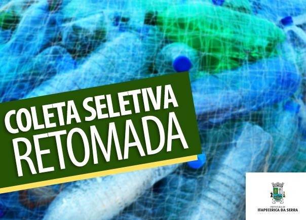 Serviço de coleta seletiva está normalizado em Itapecerica da Serra