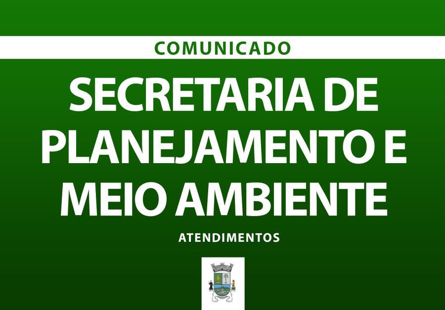Itapecerica da Serra : Secretaria de Planejamento e Meio Ambiente comunica novos procedimentos para atendimento