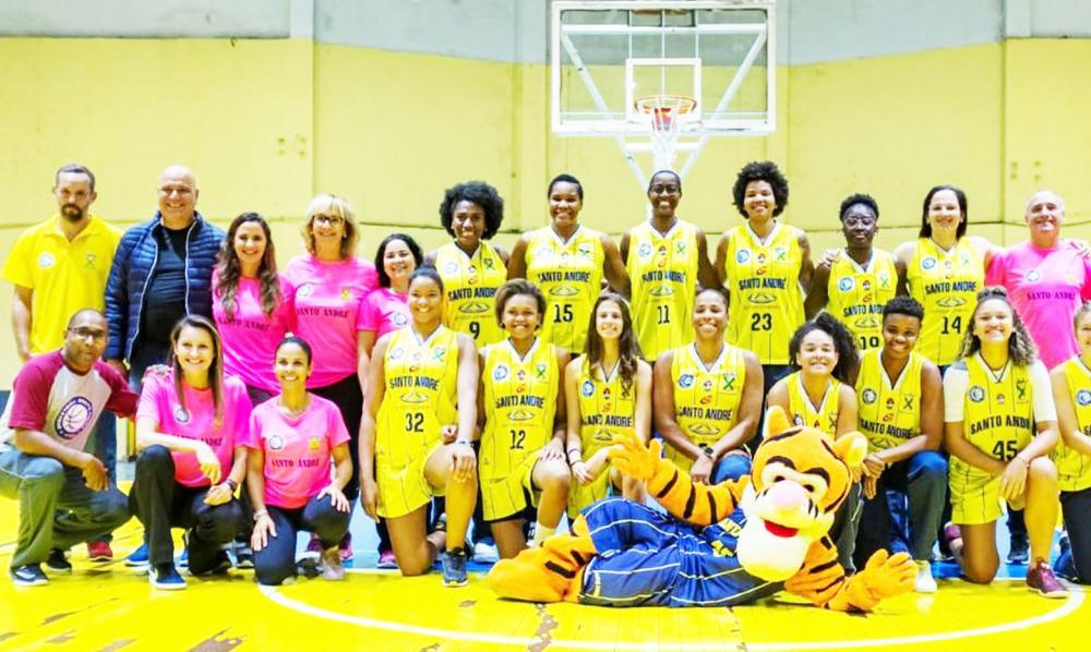Santo André promove encontro virtual de basquete feminino no domingo, 7 - Foto divulgação/LBF