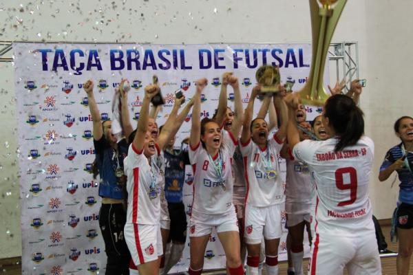 Taboão e Cianorte fazem final da Copa do Brasil no futsal feminino no próximo dia 15