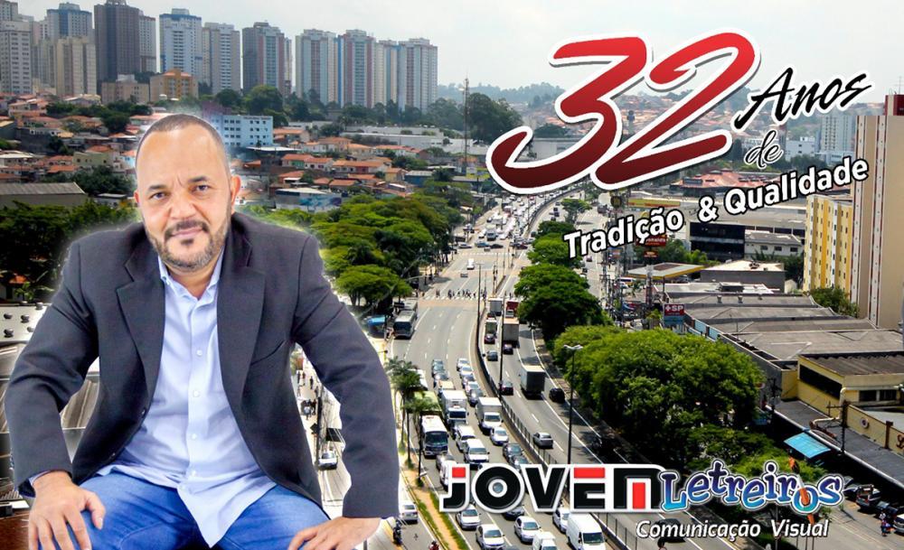 Jovem Letreiros: líder em comunicação visual há 32 anos em Taboão da Serra e região