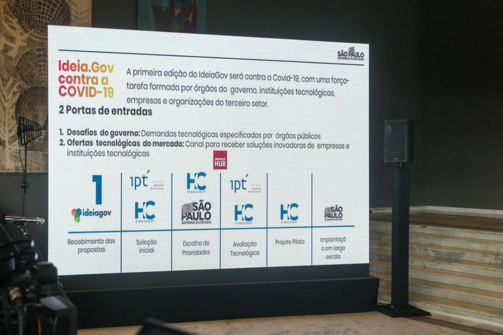 São Paulo: Governo do Estado lança programa IdeiaGov