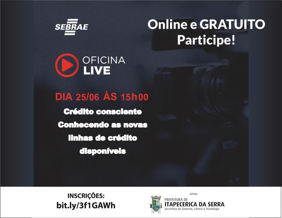 Itapecerica da Serra: Prefeitura realizará Live sobre capacitação financeira