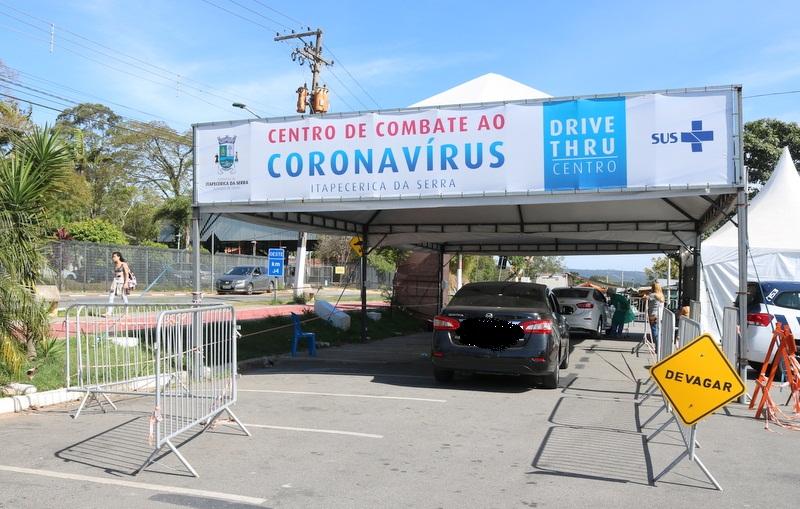 Itapecerica da Serra: Drive thru de combate ao coronavírus contabiliza mais de 4300 atendimentos