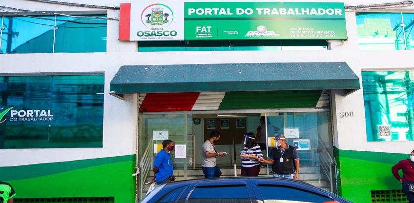 Osasco: Com restrições, Portal do Trabalhador Centro retoma atendimento presencial