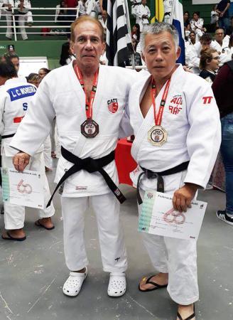 Judocas de Taboão da Serra conquistaram medalhas no IV São Paulo Open de Veteranos