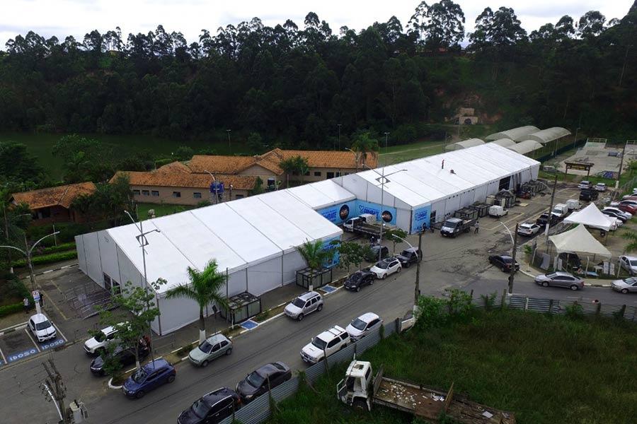 Hospital de Campanha de Embu das Artes será desmontado na próxima sexta, 10