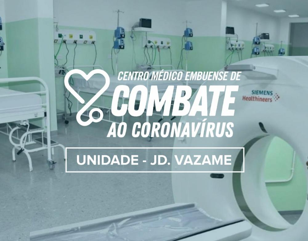 Embu das Artes: Casos de covid-19 serão atendidos no hospital de campanha do Jd. Vazame