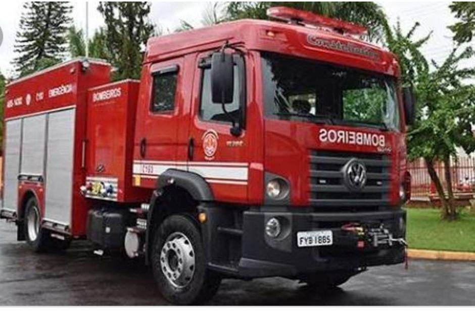 Incêndio atinge casa em Taboão da Serra