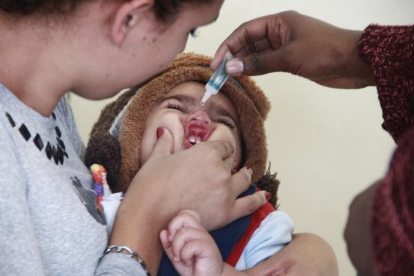Taboão da Serra alcança meta de vacinação contra Poliomielite e Sarampo
