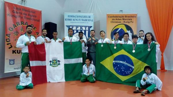 Equipe de Sanda de Osasco conquista 11  medalhas no Campeonato Paulista de Kung fu