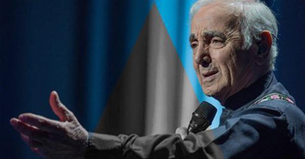 Morre o cantor Charles Aznavour, na França, aos 94 anos