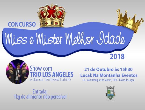Miss e Mister Melhor Idade será realizado no domingo, 21, em Itapecerica da Serra