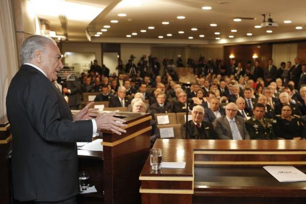 Presidente Temer prevê transição tranquila para o próximo governo