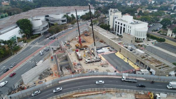 Analice Fernandes anuncia que Estação São Paulo - Morumbi deve ser inaugurada em outubro