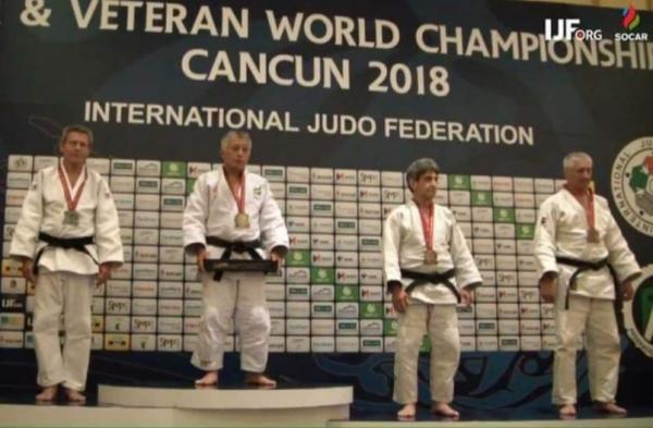 Orgulho para Taboão da Serra: Nelson Onmura é campeão mundial de Judô Veteranos em Cancún