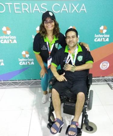 Paratleta de Taboão da Serra se destaca no Campeonato Brasileiro Loterias Caixa de Natação
