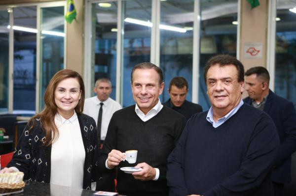 João Doria, do PSDB, é eleito governador do estado de São Paulo