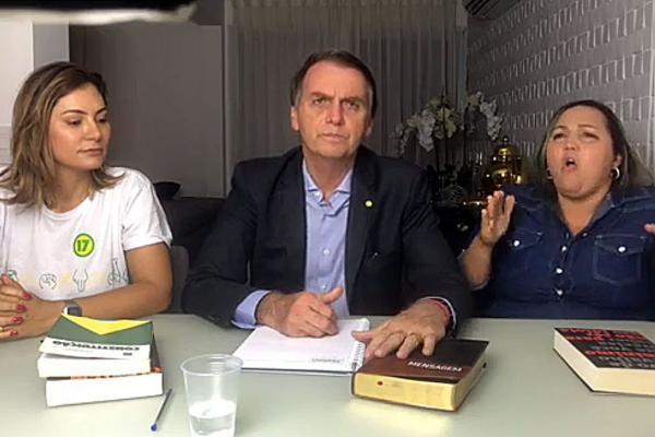 Bolsonaro disse que cumprirá promessas e governará