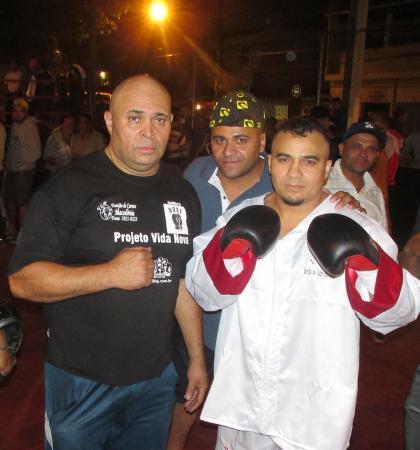 Luta entre os boxeadores Ceará e Conceição será realizada no Espaço Nova América