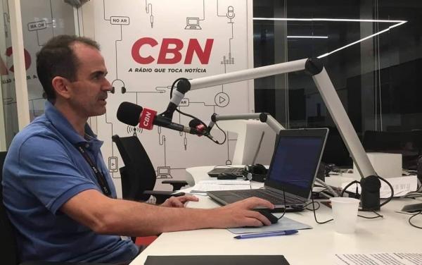 Jornalista Paulo Galvão é o novo âncora do programa CBN Madrugada, da Rádio CBN