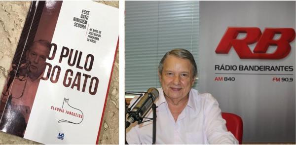 Livro sobre o programa de rádio O Pulo do Gato é lançado nesta quarta (5) em São Paulo