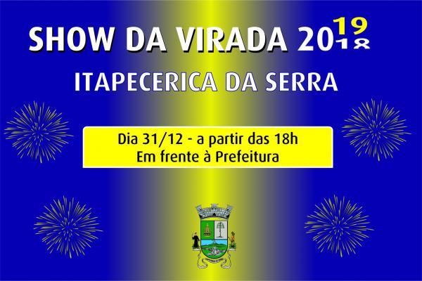 Itapecerica da Serra terá Show da Virada com queima de fogos e outras atrações