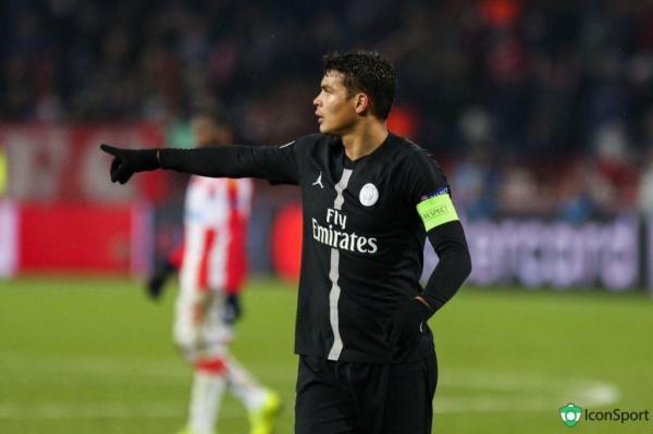 Thiago Silva é eleito o melhor estrangeiro do futebol da França em 2018