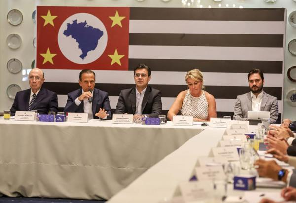 Na primeira reunião com o secretariado, o governador João Doria tem diagnóstico da Educação, Segurança e Fazenda