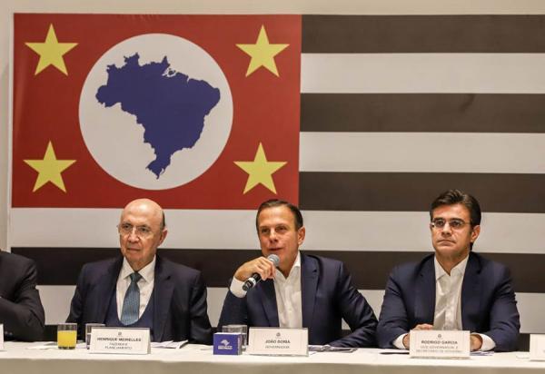 Governador de São Paulo, João Doria, anuncia privatização de presídios